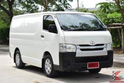 Toyota Hiace 3.0 ตัวเตี้ย ( ปี 2015 ) D4D Van MT