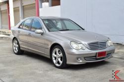Mercedes-Benz C180 Kompressor 1.8 W203 (ปี 2005) Classic Sedan AT