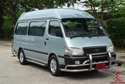 Toyota Hiace 3.0 หัวจรวด (ปี 2003) Commuter Van MT